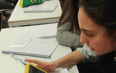 Buenas prácticas del teléfono móvil en el aula de Geografía