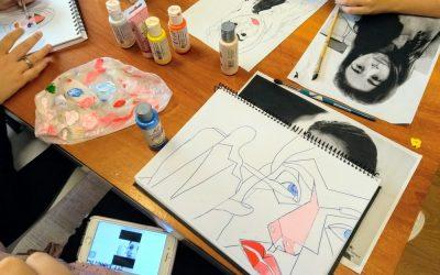 Arte e inspiración: Retrato y variaciones de luz y color