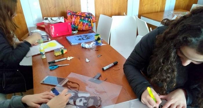Artes visuales y creación en el secundario