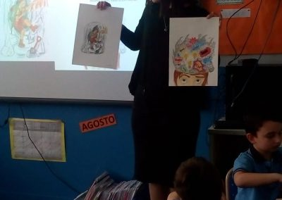 Feria Libro 1ro Visita Melissa (6)