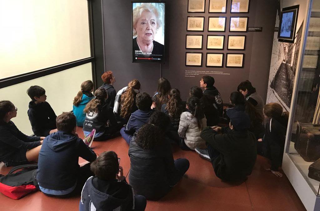 Visita al Museo del Holocausto