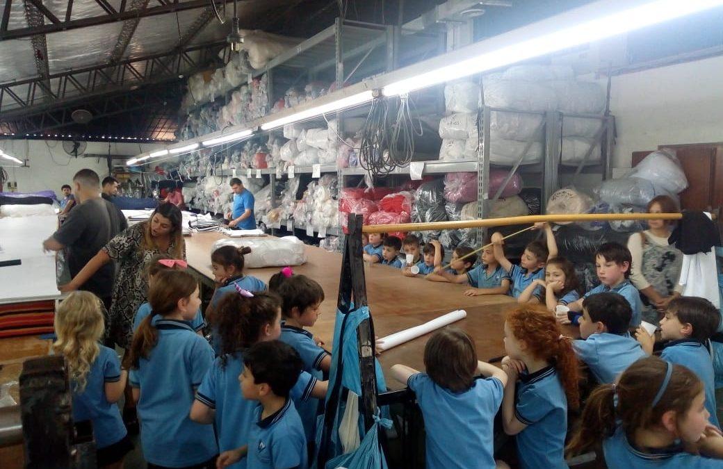 Visita a una fábrica de ropa