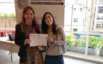 """Secundario Wolfsohn en el """"Concurso Literario Cuento Corto y Poesía en Castellano e Inglés"""" del Colegio del Arce"""