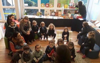 Feria del Libro en el jardín