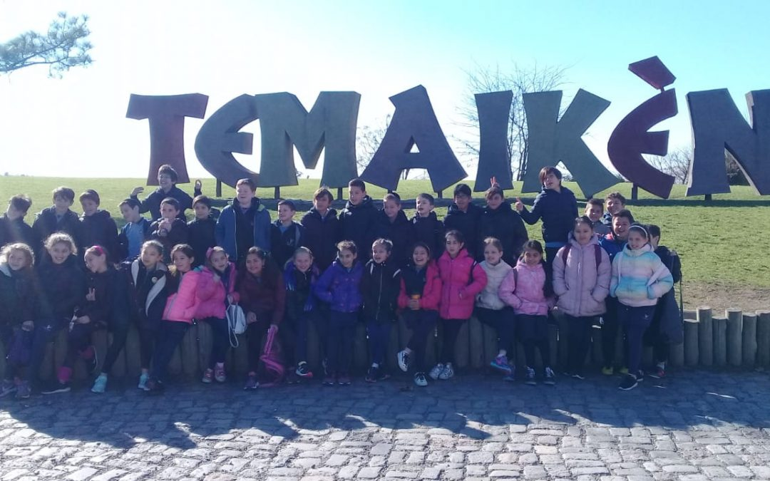 4th grade students enjoyed a visit to Temaiken