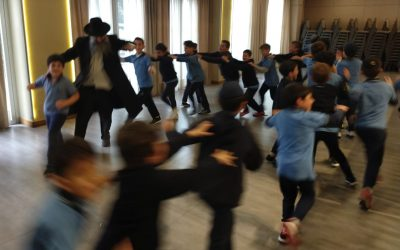 Simjat beit hashoeva en la primaria